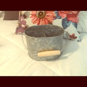 Rustic utensil holder